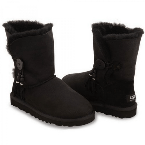 Фото UGG Bailey Button Charm Black