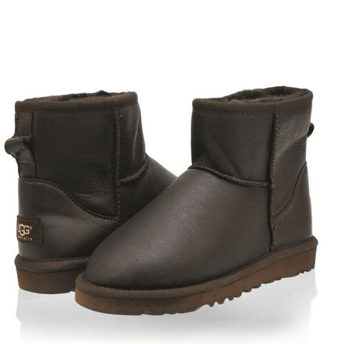 Фото UGG Classic Mini Metallic Chocolate