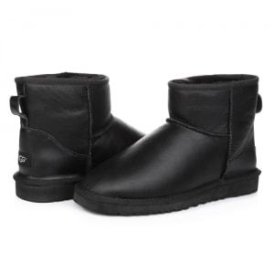 Фото UGG Mini Leather Black