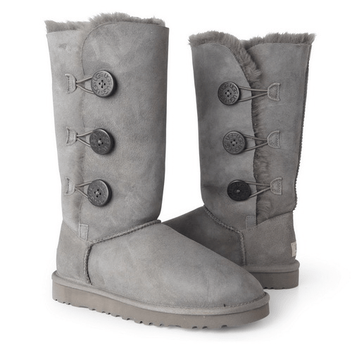 Фото UGG Tall Triplet Button Grey