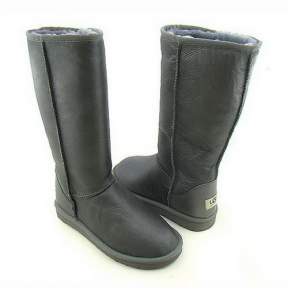 Фото UGG Tall Leather Grey