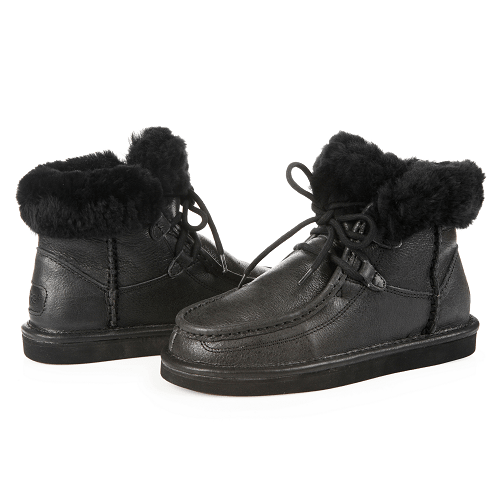 Фото UGG Cypress Leather Black
