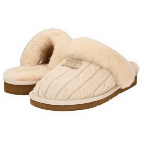 Фото UGG Cozy Knit Cable Cream