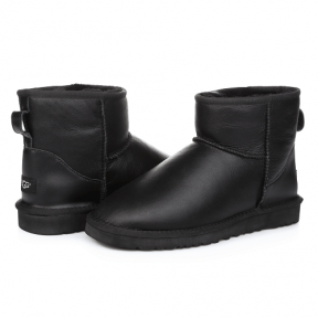 Фото UGG Mini Leather Black