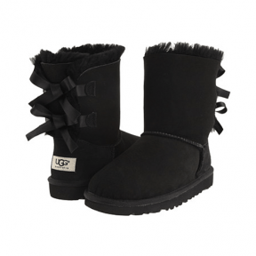 Фото UGG Kid's Bailey Bow Black