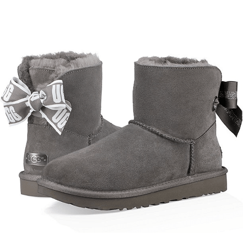 Фото UGG Mini Customizable Grey