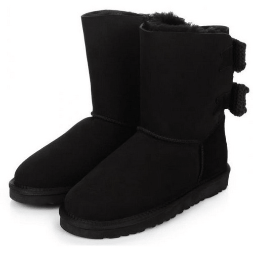 Фото UGG Bailey Knit Bow Black