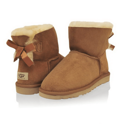 Фото UGG Mini Bailey Bow Chestnut
