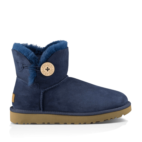 Фото UGG Mini Bailey Button II Navy