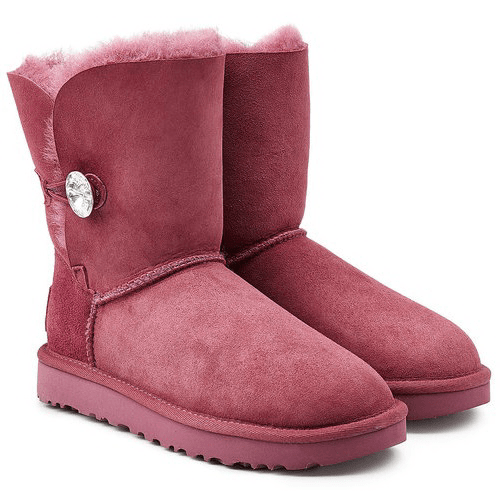Фото UGG Bailey Button Bling Red