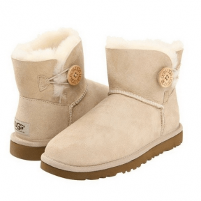 Фото UGG Bailey Button Mini Sand