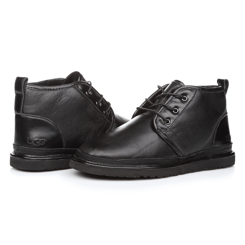 Фото UGG Neumel Leather Black