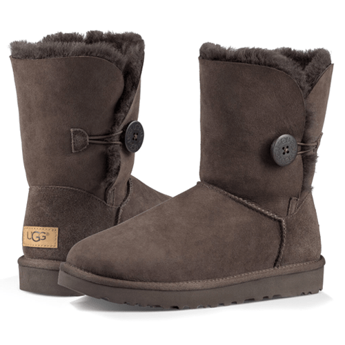 Фото UGG Bailey Button II Chocolate