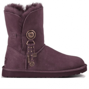 Фото UGG Bailey Button Charm Chocolate