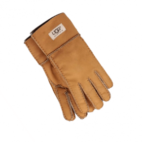 Фото UGG Sheepskin Chestnut Gloves
