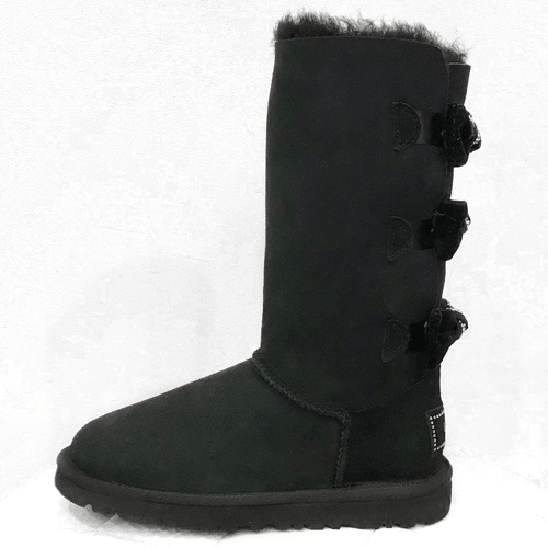 Фото UGG Bailey Bow Tall Black