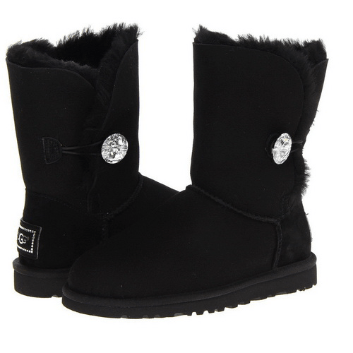 Фото UGG Bailey Bling Black