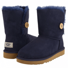 Фото UGG Kid's Bailey Button Blue