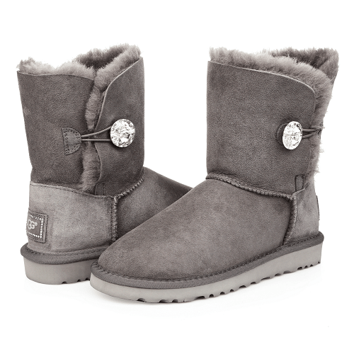 Фото UGG Bailley Button Bling Grey
