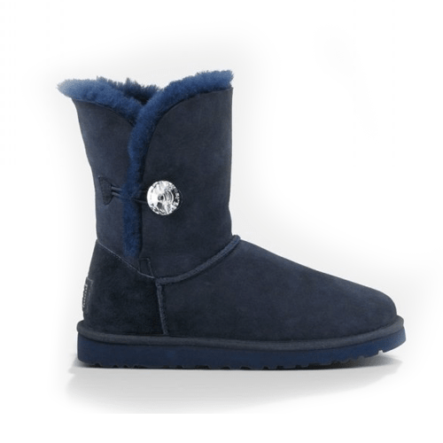 Фото UGG Bailey Button Bling Blue