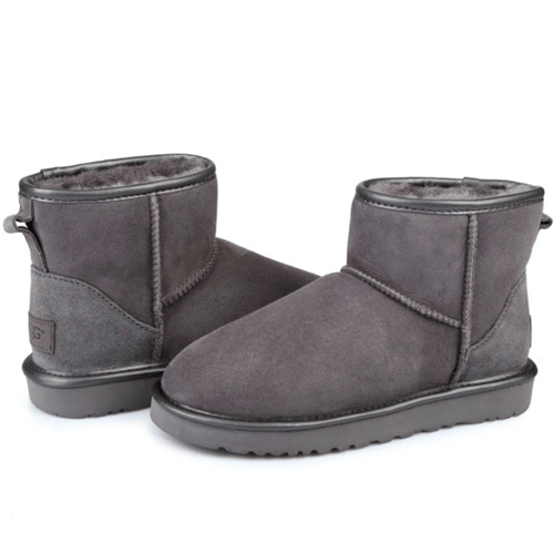 Фото UGG Mini II Cant Grey