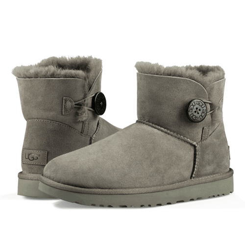 Фото UGG Bailey Button II Mini Grey