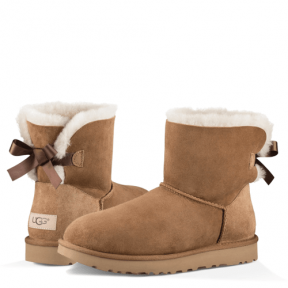 Фото UGG Bailey Bow II Mini Chestnut