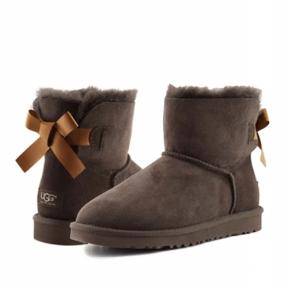 Фото UGG Mini Bailey Bow II Chocolate