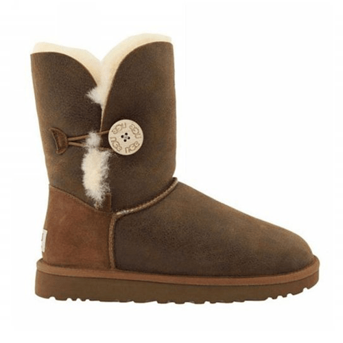 Фото UGG Bailey Button Bomber Chocolate