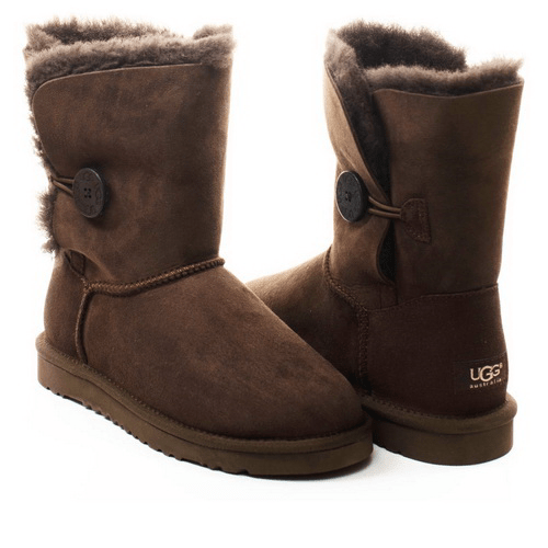 Фото UGG Bailey Button Chocolate