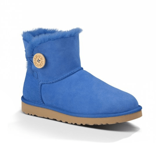 Фото UGG Bailey Button Mini Light Blue