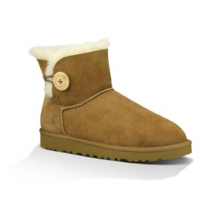 Фото UGG Bailey Button Mini Chestnut