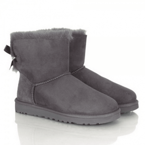 Фото UGG Mini Bailey Bow Gray