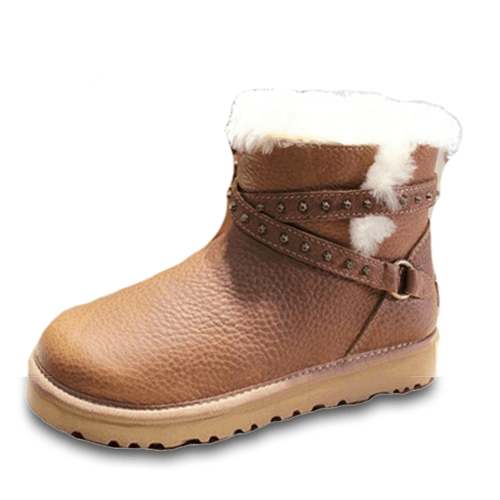 Фото UGG Mini Leather Blase Brown