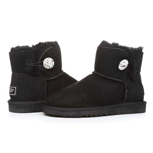 Фото UGG Mini Bailey Bling Black