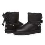 UGG Mini Bailey Bow I Do! Black