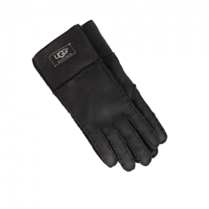 UGG Sheepskin Black Gloves