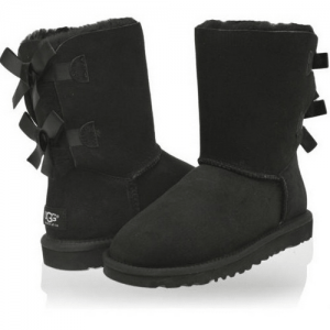 UGG Bailey Bow Black