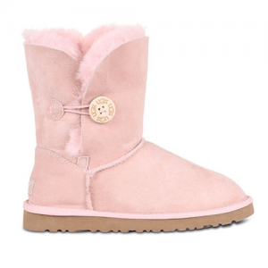 UGG Kids Bailey Button Seashell Pink