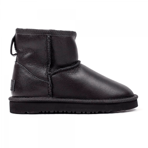 UGG Kids Mini II Boot Leather Black
