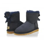 UGG Mini Bailey Bow Navy
