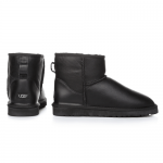 UGG Men Mini Leather Black