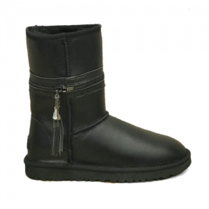 UGG Zipper Transformer Leather Black