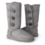UGG Tall Triplet Button Grey II