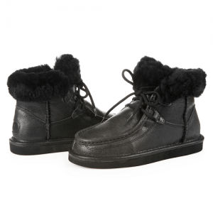 UGG Cypress Leather Black