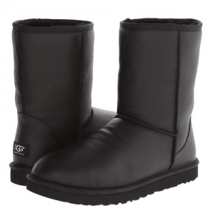 UGG Men Classic Short Leather Black
