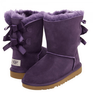UGG Bailey Bow Purple