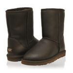 UGG Classic Short Metallic Chocolate