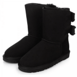 UGG Bailey Knit Bow Black