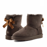UGG Mini Bailey Bow II Chocolate
